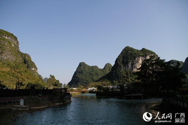 马山县乡村景观(彭远贺/摄)