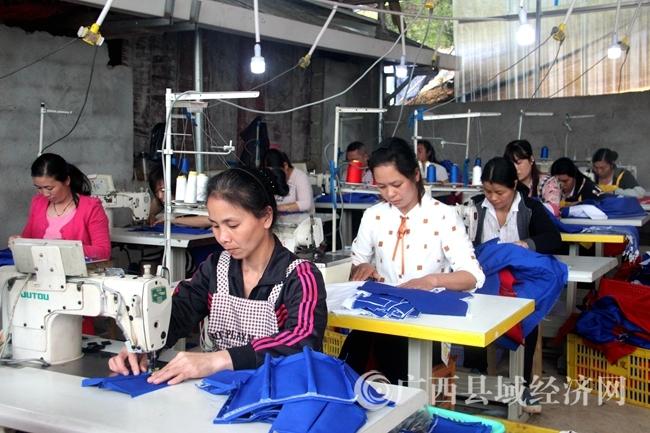 恭城县:鼓励农民工离土不离乡
