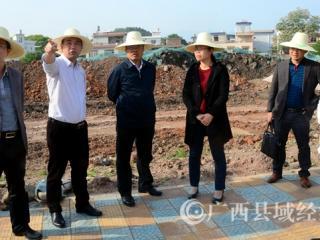平桂区委书记赖春忠率队调研平桂民族学校建设项目推进情况