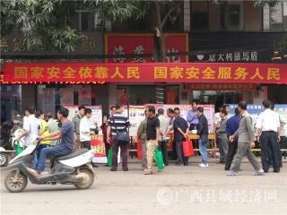 """宁明县司法局开展""""全民国家安全教育日""""法治宣传活动"""