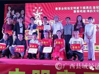 第三季《中国新歌声》全国城市海选宁明赛区总决赛鸣金