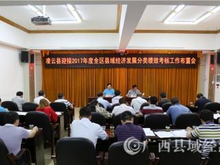 凌云县:高度重视 责任担当 迎接2017年度全区县域经济发展分类绩效考核