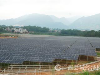 蒙山县:光伏发电项目促增收
