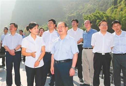 鹿心社在桂林贺州梧州调研: 推动经济发展与环境保护协同共进