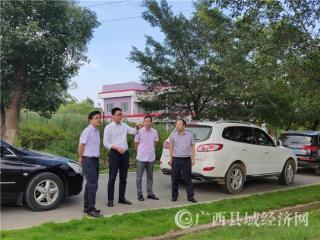 自治区质监局领导到忻城考察调研服务业标准化工作