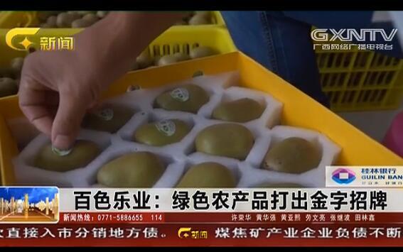 乐业县:绿色农产品打出金字招牌