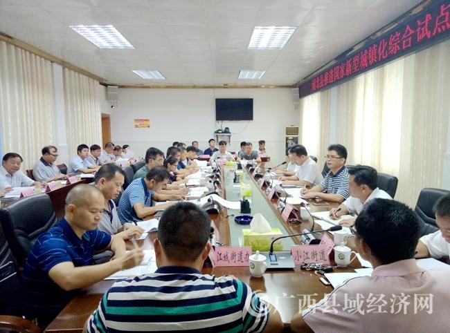 浦北县:召开推进国家新型城镇化综合试点工作专题会
