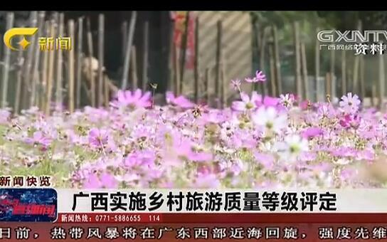广西实施乡村旅游质量等级评定