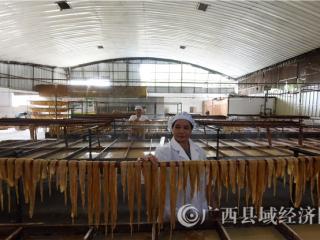 昭平县:腐竹加工开拓生态产业链