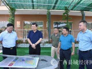 贺州市委书记李宏庆到黄姚调研时强调 坚定不移抓好产业发展和项目建设