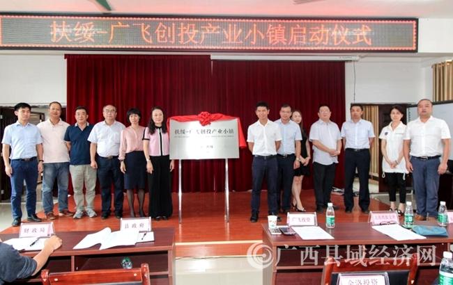 广西首家创投产业小镇启动仪式在扶绥举行