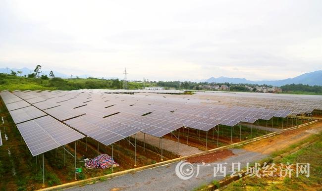 蒙山县:建设集中式光伏扶贫发电项目