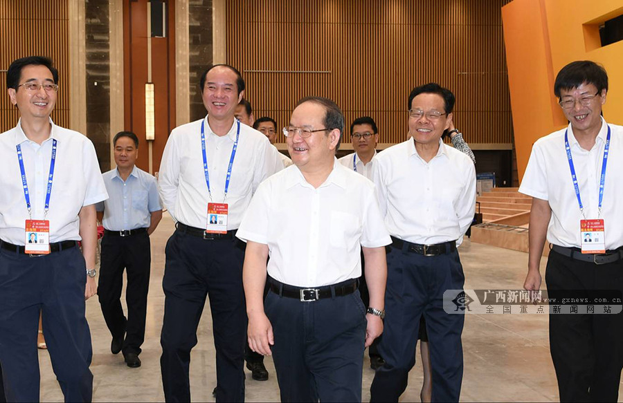 鹿心社陈武检查第15届中国-东盟博览会和中国-东盟商务与投资峰会筹备工作