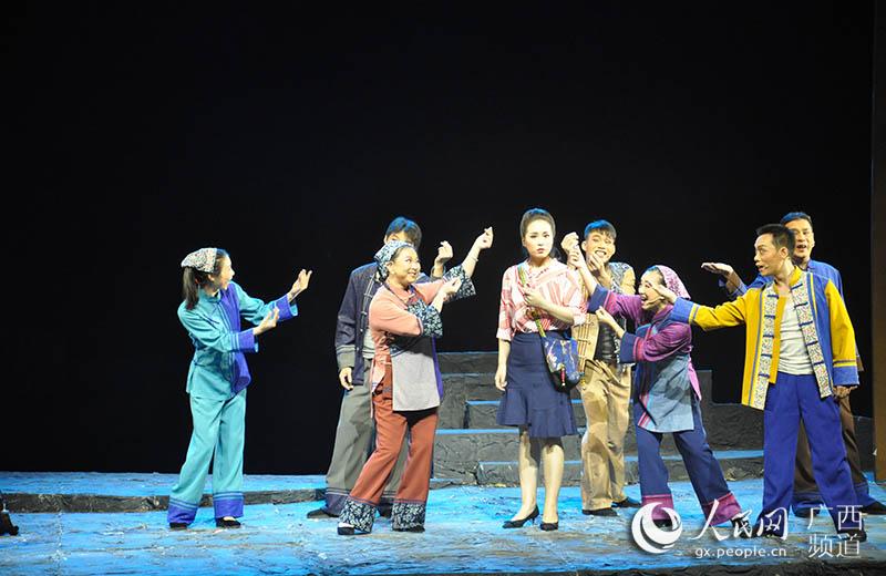 客家山歌剧《股份农民》亮相南宁