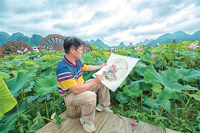 """鹿寨县:积极实施乡村振兴战略推动""""三农""""工作迈向""""强美富""""纪实"""