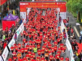 广西巴马举办2018年国际生态马拉松大赛