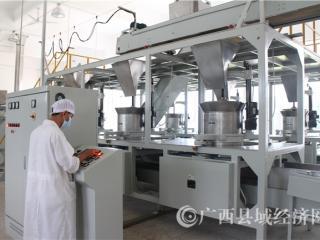 八桂凌云白毫茶科技产业园----设备展示