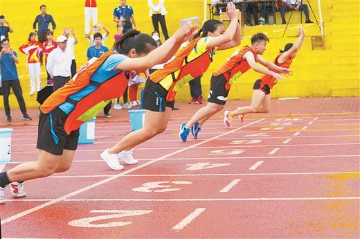 广西第十四届少数民族传统体育运动会掠影