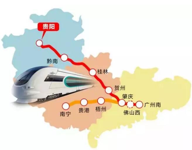 """广西这9个县市大有前途,将被建设成""""特色高铁城镇"""""""