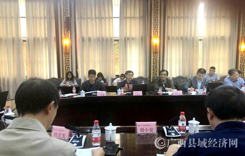何成学研究员在广西边疆研究高峰论坛上作主题发言