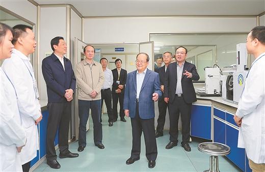 鹿心社:提升创新能力 推动成果转化 为产业高质量发展提供支撑