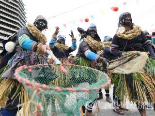罗城有个侗寨叫纳冷  十月十二抓鱼闹欢腾