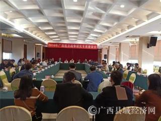 何成学研究员在广西抗战史研究专家座谈会上作主题发言