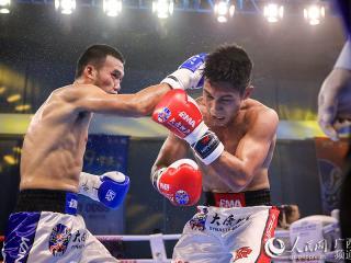 """""""一带一路""""中国―东盟拳王赛落幕 中国拳手再获两项冠军"""