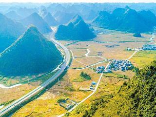 靖西至龙邦高速公路建成通车 主线全长28.30公里