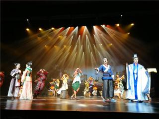 大型音乐剧《珠还合浦》在北海成功试演