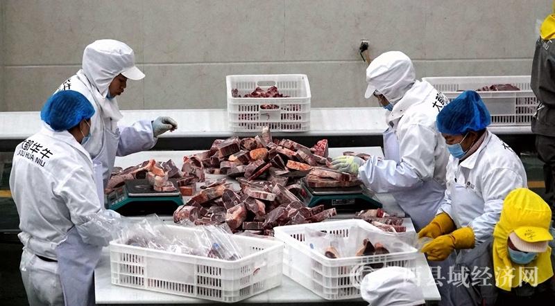 """都安县:牛肉市场""""牛气冲天""""产品旺销"""