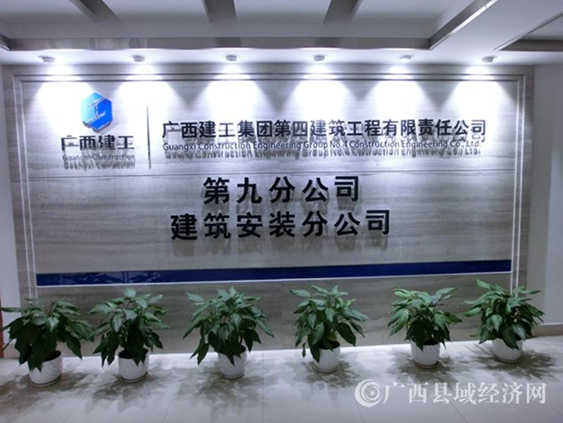 广西建工四建九分公司党总支:拓宽党建+内涵,打造党建特色品牌