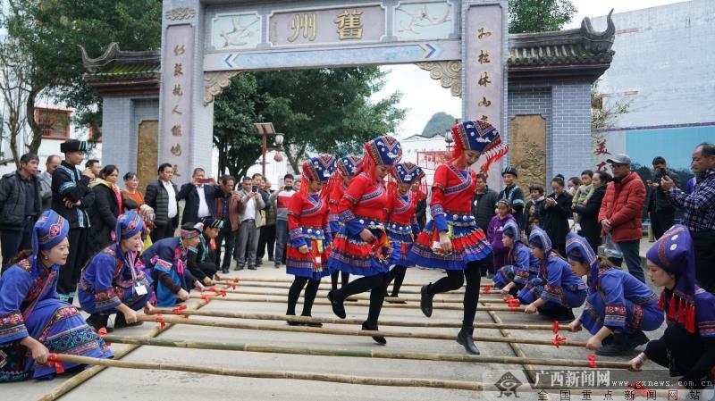 【新春走基层・强四力融合报道】靖西新春民俗文化旅游节精彩不断