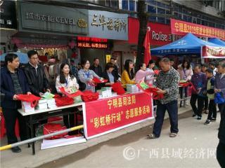 """宁明县司法局开展2019年寒假""""彩虹桥行动""""志愿服务活动"""