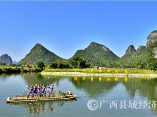 贺州市:姚江漂流风景美如画