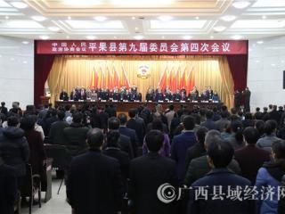政协平果县第九届委员会第四次会议开幕