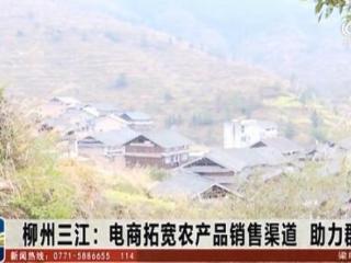 三江县:电商拓宽农产品销售渠道 助力群众脱贫