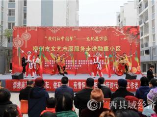 """融安县:文化""""大餐""""送易地搬迁群众"""