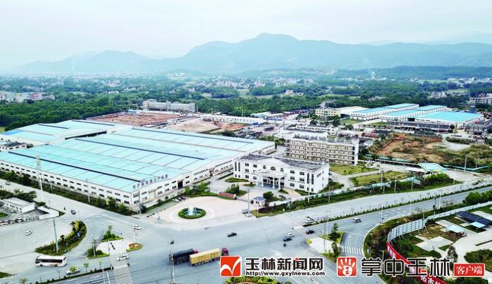 北流市:鑫山工业集中区2018年实现产值28亿元
