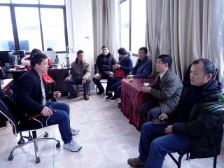恭城县水利局:领导慰问增干劲