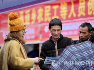 融安县:粤桂企业招聘促就业