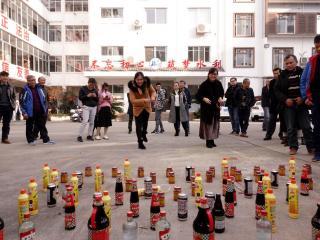 恭城县水利局工会开展喜迎新春活动
