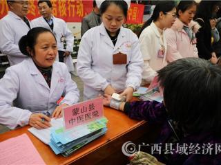蒙山县开展世界防治结核病日宣传活动