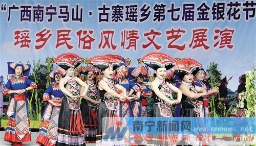 马山县:金银花开引客来 农旅融合促增收