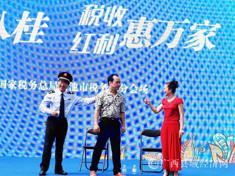 广西河池:税法宣传进寿乡