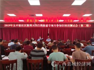 平果县:太平司法所组织开展社区服刑人员扫黑除恶专项斗争知识测试