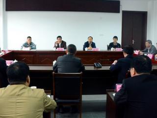 贺州市督导组到平桂开展巡视反馈意见整改情况督导