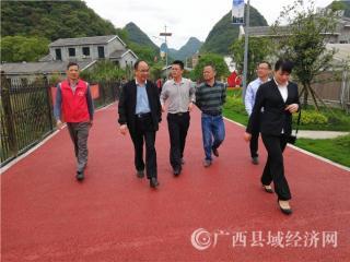 自治区文化和旅游厅专题调研组到黄姚古镇调研