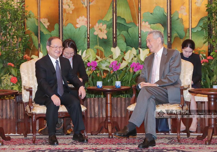 鹿心社拜会新加坡总理李显龙