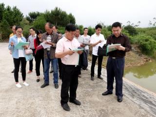 桂林市水库防汛及小型水库巡查管护人员培训班在恭城县举行